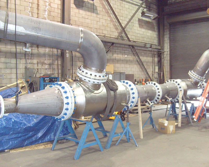 Pipe Spool Fabrication Titanium Fabrication Corp